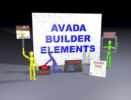 Avada Builder Element Examples